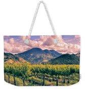 Sunset In Napa Valley Weekender Tote Bag