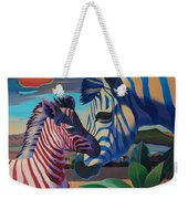 Sunset In Ngoro Ngoro Weekender Tote Bag