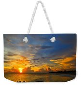 Sunset In Paradise - Beach Photography By Sharon Cummings Weekender Tote Bag by Sharon Cummings