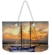 Sunset In The Bay Weekender Tote Bag
