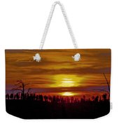 Sunset In The Black Hills 2 Weekender Tote Bag