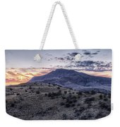 Sunset In The Davis Mountains Weekender Tote Bag