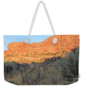 Sunset In The Desert Canyon 2 Weekender Tote Bag