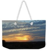 Sunset In The Distance Weekender Tote Bag