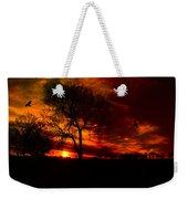 Sunset In The Field Weekender Tote Bag