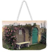 Sunset In The Garden Weekender Tote Bag by Terry Reynoldson