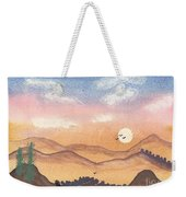 Sunset In The Hills Weekender Tote Bag