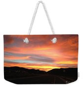 Sunset In The Southwest Weekender Tote Bag