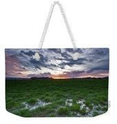 Sunset In The Swamp Weekender Tote Bag