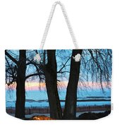 Sunset In The Trees Weekender Tote Bag
