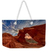 Sunset In The Valley Of Fire Weekender Tote Bag