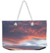 Sunset In Vail Colorado Weekender Tote Bag