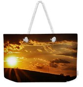 Sunset In Vernon County Weekender Tote Bag