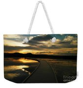 Sunset In Yellow Stone Weekender Tote Bag