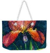 Sunset Iris Weekender Tote Bag