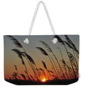 Sunset Island Beach State Park Nj Weekender Tote Bag
