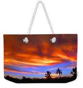 Sunset Key Largo Filtered Weekender Tote Bag