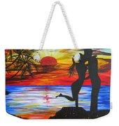 Sunset Kiss Weekender Tote Bag