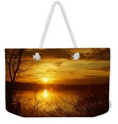 Sunset Lake Galena Weekender Tote Bag