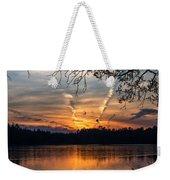 Sunset Lake Horicon Lakehurst New Jersey Weekender Tote Bag