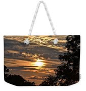 Sunset Layers Weekender Tote Bag