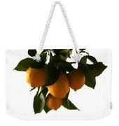 Sunset Lemons Weekender Tote Bag