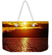 Sunset Love At Crosswinds Weekender Tote Bag