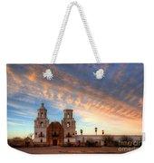 Sunset Majesty Mission San Xavier Del Bac Weekender Tote Bag