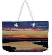 Sunset Marsh Weekender Tote Bag