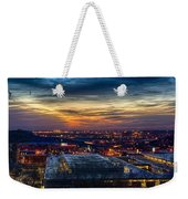 Sunset Metro Lights And Splendor Weekender Tote Bag