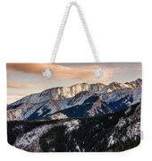 Sunset Mountains Weekender Tote Bag