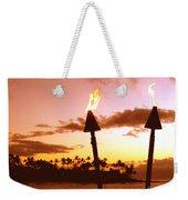 Sunset Napili Maui Hawaii Weekender Tote Bag