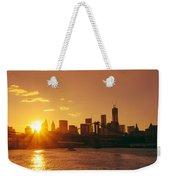 Sunset - New York City Weekender Tote Bag