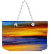 Sunset Of Light Weekender Tote Bag