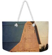 Sunset On A Barn Weekender Tote Bag