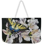 Sunset On A Swallowtail Weekender Tote Bag