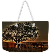 Sunset On A Texas Drought Weekender Tote Bag
