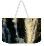 Sunset On A Waterfall Weekender Tote Bag