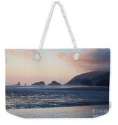 Sunset On Cannon Beach Weekender Tote Bag