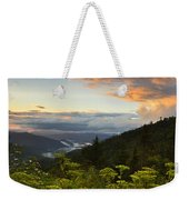 Sunset On Clingman's Dome Weekender Tote Bag