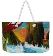 Sunset On Earth Twenty Eight Days After People Weekender Tote Bag