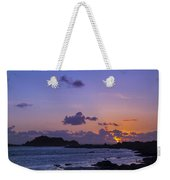 Sunset On Guernsey Weekender Tote Bag