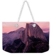 Sunset On Half Dome As Seen Weekender Tote Bag
