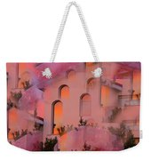 Sunset On Houses Weekender Tote Bag