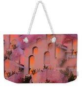Sunset On Houses Weekender Tote Bag