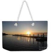 Sunset On Key Largo Weekender Tote Bag