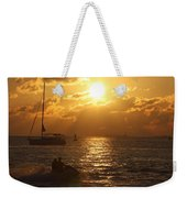 Sunset Over Key West Weekender Tote Bag