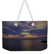 Sunset On Lake Poygan 1 Weekender Tote Bag