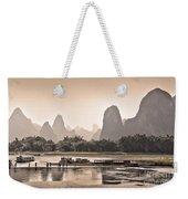 Sunset On Li River Weekender Tote Bag