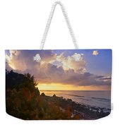 Sunset On Little Cayman Weekender Tote Bag